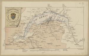 Evian-les-Bains et le lac Leman. Supplément au Guide Evian-les-Bains par Charles Albert Besson - source Bibliothèque nationale de France