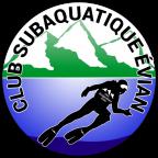 Logo du club subaquatique d'Evian-les-bains